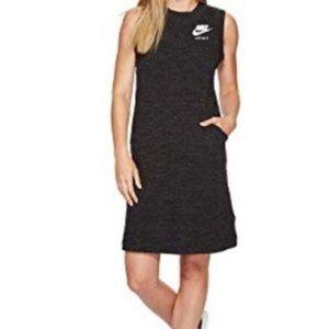 NIKE Active Sportswear Sleeveless Grey Dress